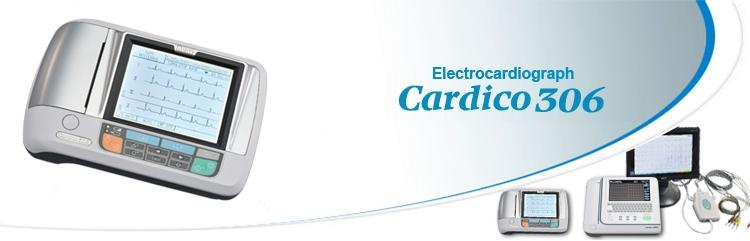 Máy điện tim 3 cần Suzuken Cardico 306
