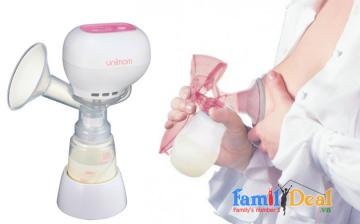 Máy hút sữa Unimom KPop có Pin sạc UM871098